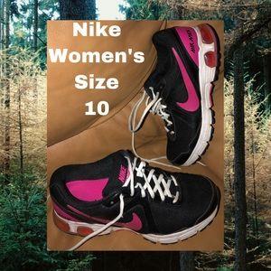 Nike Sneakers | Size 10 | Women's | Black & Pink